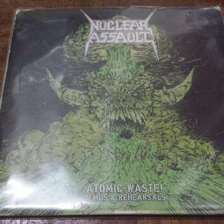 Nuclear Assault ‎– Atomic Waste - Vinyl Record LP - Thrash Metal