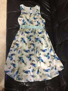 Printed dress with Bird motifs from Bloom B