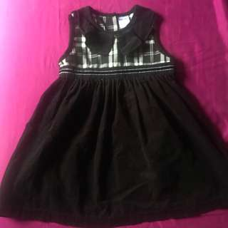 corduroy Dress - black