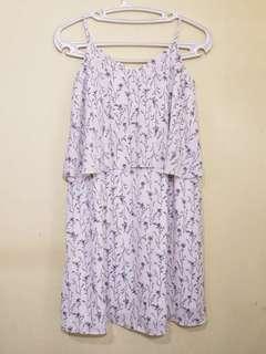 Miss Selfridge Light Pink Floral Dress