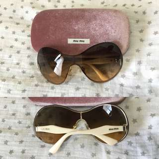 Miu Miu Fendi Tom Ford Sunglasses