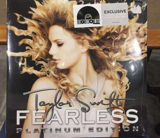 (Reserved) RSD 2018 Record Store Day - Taylor Swift Fearless metallic Gold colour Vinyl 2 LP
