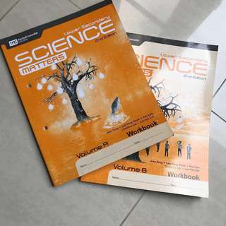 Lower Secondary express Science Matters workbook