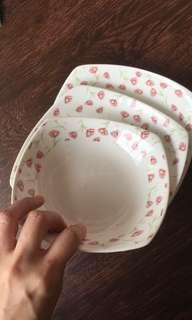 Ceramic piring ,tea pot