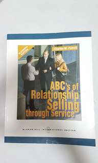 Relatioship selling through service