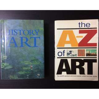 Art Books - History of Art and the A-Z of Art