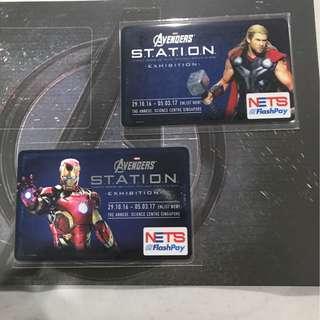 Thor/Ironman nets flashPay