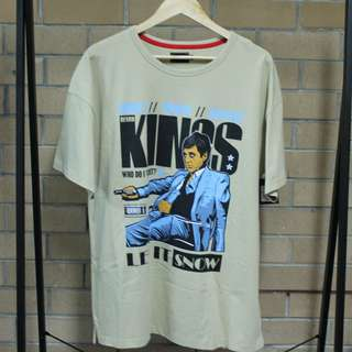 Scarface Tony Montana 'Let it Snow' Retrokings Tee