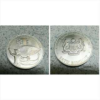 Ninth Southeast Asia Games (1977) RM 1 Coin