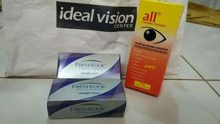 Ideal vision contact lense