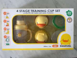 4 stage Sippy cup