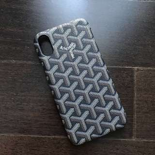 Goyard Inspired iPhone X Case