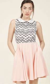 ModCloth Lipstick Dress
