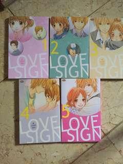 Love sign - usami maki (1-5 end)
