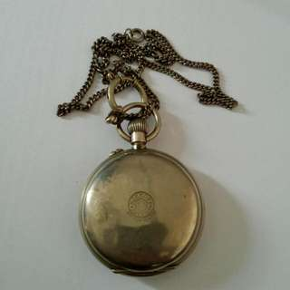 Roskopf Swiss Made Pocket Watch Vintage 1