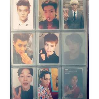 OFFICIAL! EXO Photocards