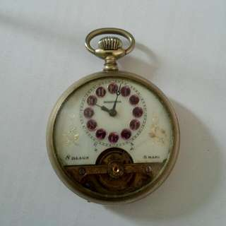 Rospana 8 Hari Pocket Watch Vintage