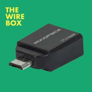 Micro USB OTG to USB Adapter - M/F