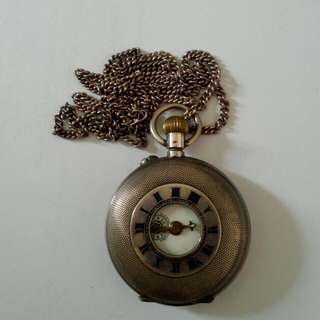 Roskopf Swiss Made Pocket Watch Vintage 3