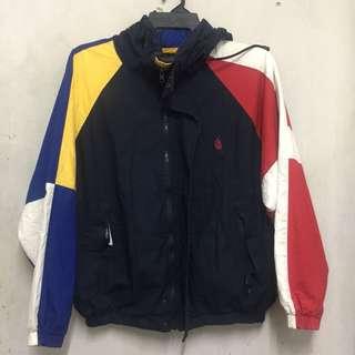 Vintage NAUTICA Reversible Multicolor Colorblock Jacket