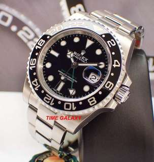 Brand New ROLEX Oyster Perpetual GMT-MASTER II 40MM Automatic. Ref model : 116710LN. Swiss made.