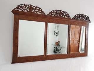 Vintage Peranakan Mirror