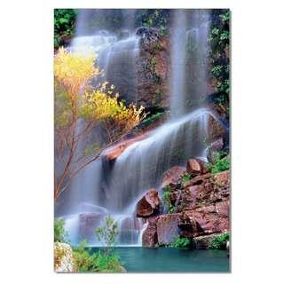 Waterfall Jumping Acrylic Print 1 Piece