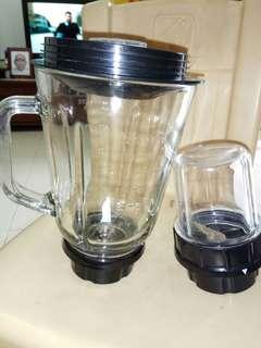 Blender Glass Jars