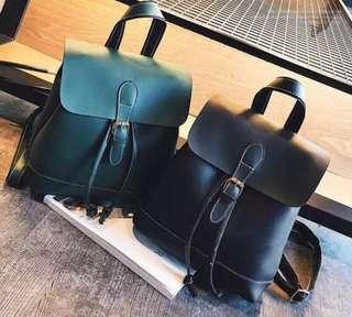 PO* Korea Style Woman Backpack Handbag