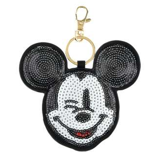 Japan Disneystore Disney Store Mickey Mouse Sequin Keychain