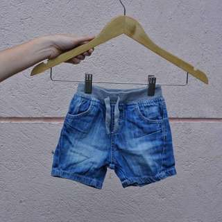 Mothercare denim shorts