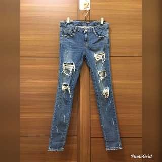 正韓🇰🇷彈性牛仔褲28腰 #女裝半價