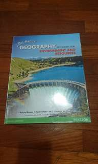 Geography Textbook (Environment n resources )