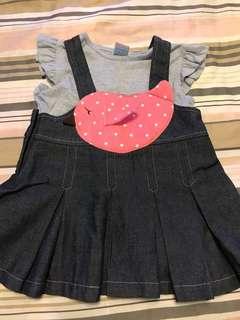 PL baby girl dress (size 1)