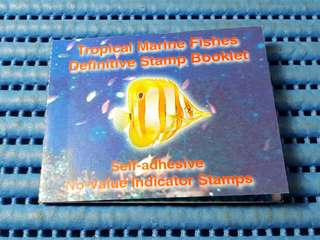 Singapore Tropical Marine Fishes Definitives Stamp Booklet