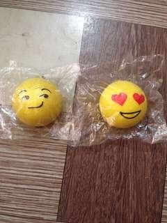 Squishy emoji buns!