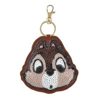 Japan Disneystore Disney Store Chip Sequin Keychain