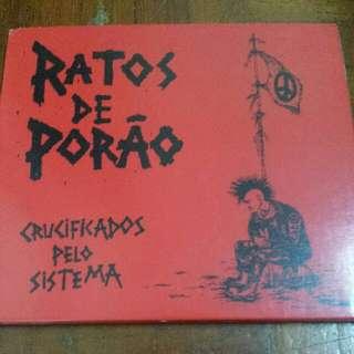 Music CD: Ratos De Porão–Crucificados Pelo Sistema - Brazilian Hardcore/Punk Band