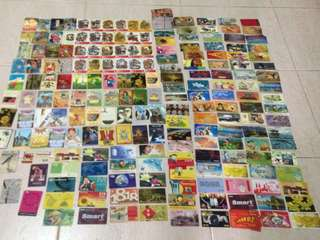 Used phone cards