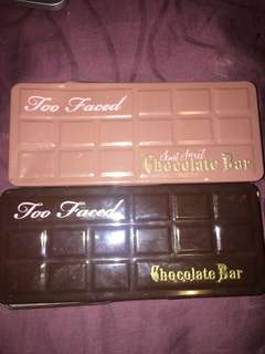 Chocolate pallette and semi sweet chocolate pallette
