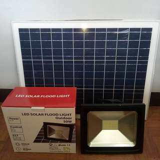 Solar Timer Flood Light 10w