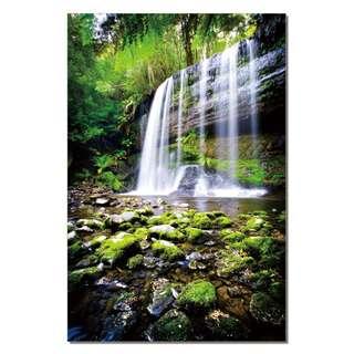 Waterfall Over all Rocks Acrylic Print 1 Piece
