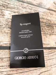 Giorgio Armani 三色唇彩 Lip Gloss Lip Magnet sample