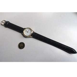 全新-J.SPRINGS LADIES QUARTZ 日本・行針日曆・皮帶石英錶