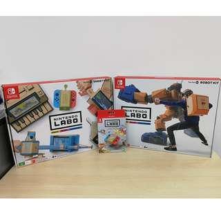 (Brand New) Nintendo Switch Labo 3 in 1 Bundle