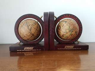 Book End with Ancient Mariner Globe