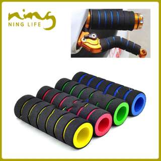 Striped Sponge Tube Handlebar Grip Cover