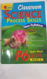 Classroom Science Process Skills for P6 & P5