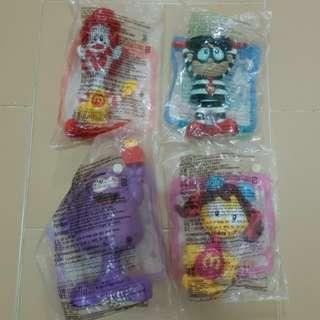 McDonald Mac Bobble Head Figurines