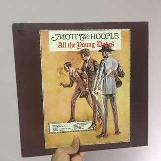 Mott The Hoople Record LP